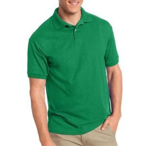 Men's Cotton-Blend EcoSmart® Jersey Polo